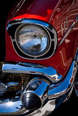 1957 Chevy Bel Air Custom Hot Rod Print by David Patterson
