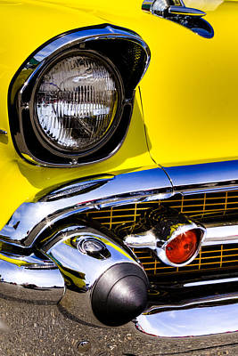 Chevrolet Photograph - 1957 Chevy Bel Air by David Patterson