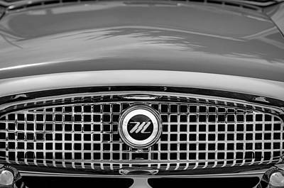 Photograph - 1959 Nash Metropolitan Grille Emblem by Jill Reger