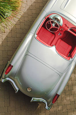 1960 Photograph - 1960 Chevrolet Corvette Convertible by Jill Reger