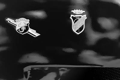 Photograph - 1962 Fiat Abarth 2300 S Coupe Emblems by Jill Reger