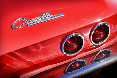 Photograph - 1963 Chevy Corvette Stingray by Gordon Dean II