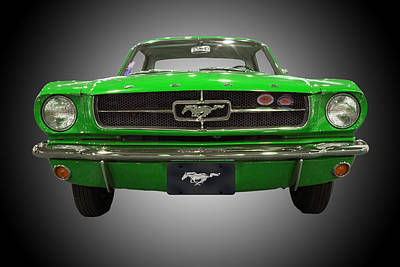 Photograph - 1964 Ford Mustang by Michael Porchik