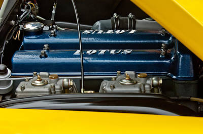 Photograph - 1965 Lotus Elan S2 Engine by Jill Reger