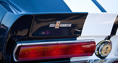 Ford Photograph - 1967 Ford Mustang Shelby Gt500 by David Patterson