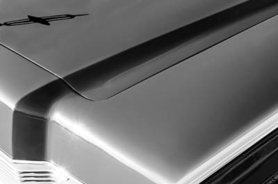 Photograph - 1967 Lincoln Continental Hood Ornament by Jill Reger