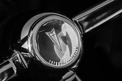 Firebird Photograph - 1967 Pontiac Firebird Steering Wheel Emblem by Jill Reger