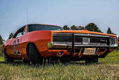 69 Dodge Charger Photograph - 1969 Charger by Mark Maloney