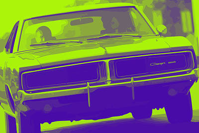 1969 Dodge Charger Art Print by Gordon Dean II