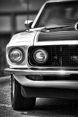 Photograph - 1969 Ford Mustang Mach 1 by Gordon Dean II