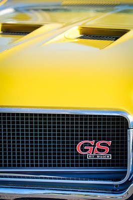 Photograph - 1970 Buick Gs Grille Emblem by Jill Reger
