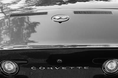 Lt Photograph - 1970 Chevrolet Corvette Lt-1 Convertible Taillight Emblem by Jill Reger
