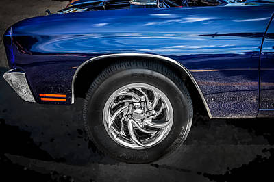 1970 Chevy Chevelle 454 Ss  Art Print by Rich Franco