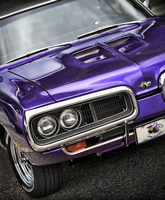 1970 Dodge Coronet Super Bee Art Print by Gordon Dean II