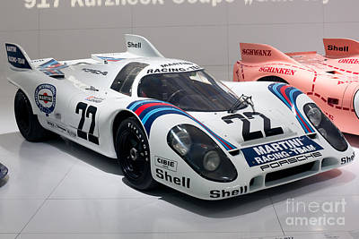 1971 Porsche 917 Kh Coupe Print by Paul Fearn
