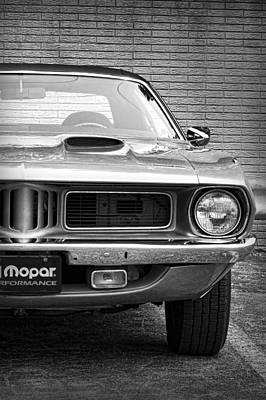 Photograph - 1972 Plymouth Barracuda by Gordon Dean II