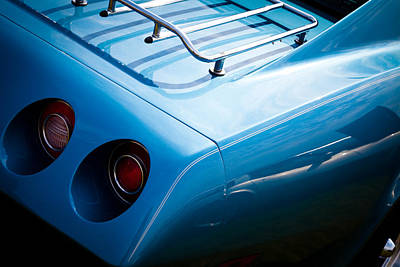 Chevy Photograph - 1974 Chevy Corvette by David Patterson