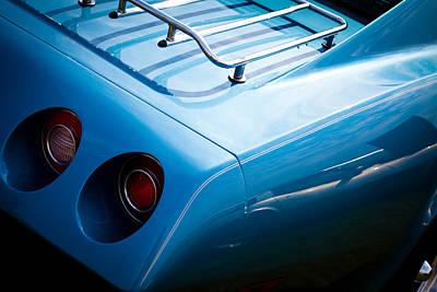 Corvettes Photograph - 1974 Chevy Corvette by David Patterson