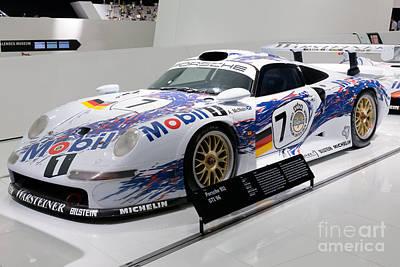 1998 Porsche 911 Gt1 Art Print
