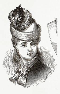 19th Century Fashion Art Print