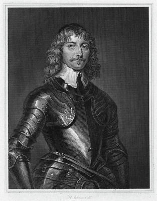 Breastplate Painting - 1st Marquess Of Montrose by Granger