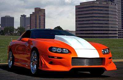 Photograph - 2002 Camaro Z28 by Tim McCullough