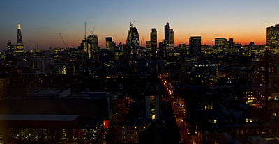 London Skyline Royalty-Free and Rights-Managed Images - 2013 City of London Skyline by David French