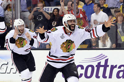 Photograph - 2013 Nhl Stanley Cup Final - Game Six by Harry How