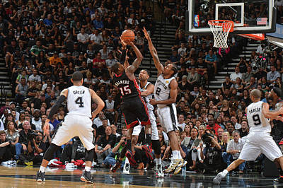 Photograph - 2014 Nba Finals - Game Two by Jesse D. Garrabrant
