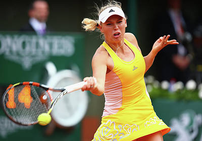 Photograph - 2015 French Open - Day Five by Clive Mason
