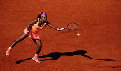 Photograph - 2015 French Open - Day Fourteen by Clive Brunskill