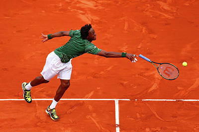 Photograph - 2015 French Open - Day Six by Julian Finney