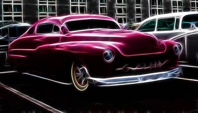 1949 Merc Photograph - 50 Merc  by Steve McKinzie