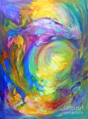 Chakra Painting - 5th Chakra - Throat by Madalyn Kennedy