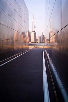 Photograph - 911 Memorial by Michael Dorn