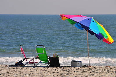 Photograph - A Day At The Beach  by Brian Hoover