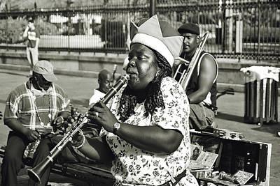 A Jazz Celebration II Art Print by Chris Moore