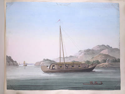 A Large Boat Art Print by British Library