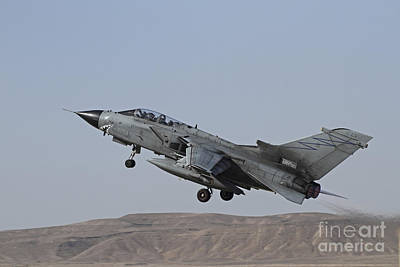Valentines Day - A Panavia Tornado Of The Italian Air by Ofer Zidon