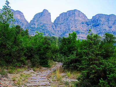 Photograph - A Path To The Mountains by Alexandros Daskalakis