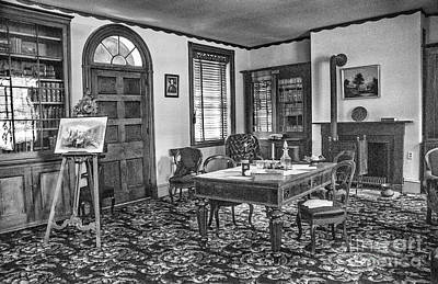 Photograph - A Presidents Desk by Paul W Faust -  Impressions of Light