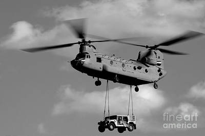 Afghanistan Photograph - A U.s. Army Ch-47 Chinook Helicopter by Stocktrek Images