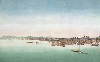 A View Of Canton Art Print