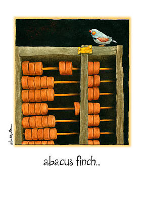 Mockingbird Painting - Abacus Finch... by Will Bullas