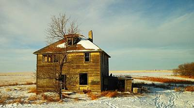 Old House Photograph - Abandoned House by Jeff Swan