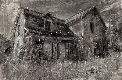 Rural Decay Mixed Media - Abandoned by Jim Vance