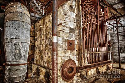 Abandoned Steam Plant Art Print