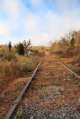 Photograph - Abandoned Tracks by Melinda Fawver