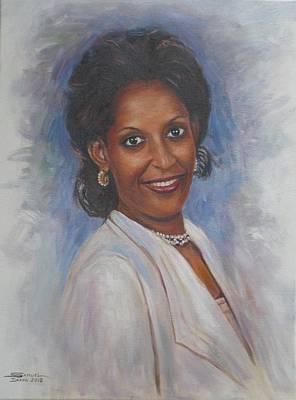 Painting - Abby Daffa by Samuel Daffa