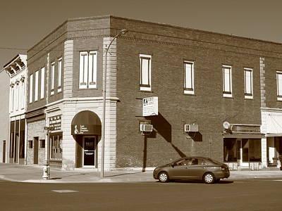 Abilene Kansas - 2nd And Broadway Art Print by Frank Romeo